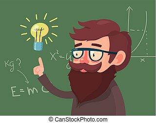 Cartoon character Professor
