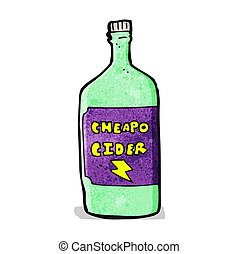cartoon cheap cider