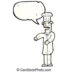 cartoon chef