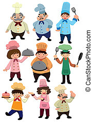cartoon Chef icon  - cartoon Chef icon