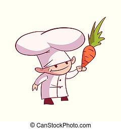Cartoon chef illustration
