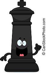 Cartoon Chess King Idea