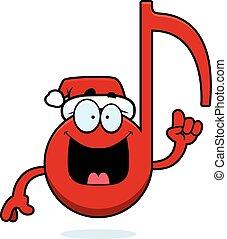 Cartoon Christmas Music Idea