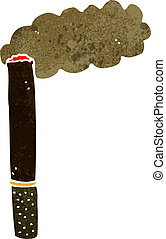 cartoon cigar