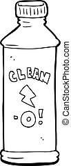cartoon cleaning product