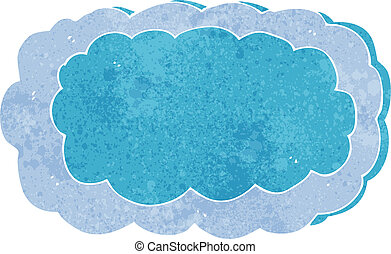 cartoon cloud symbol