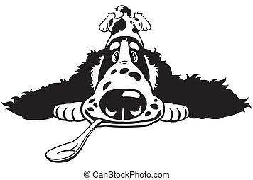 cartoon cocker spaniel - dog english cocker spaniel breed, ...