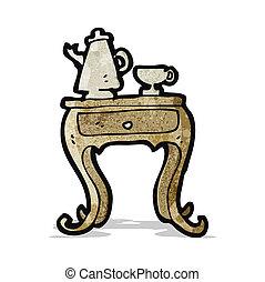 cartoon coffee table