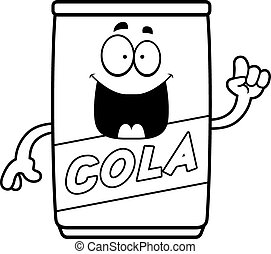 Cartoon Cola Can Idea