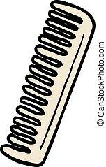 cartoon comb