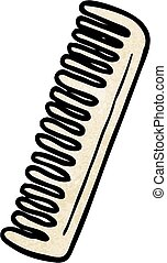 cartoon comb