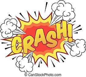 Cartoon Comic Book Crash Explosion Sound Effect - A cartoon ...
