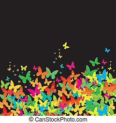 Cartoon congratulatory card .vector illustration