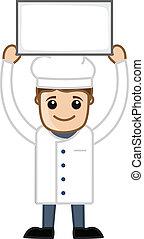 Cartoon Cook Chef