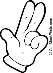 cartoon counting fingers