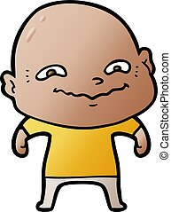cartoon creepy guy