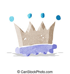 cartoon crown symbol