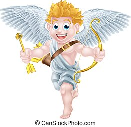 Cartoon Cupid Angel