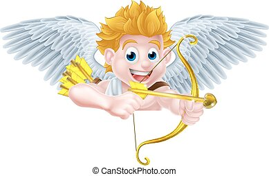 Cartoon Cupid Sign