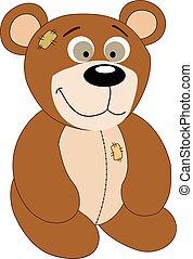 Cartoon cute bear