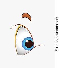 Cartoon Cute Eye