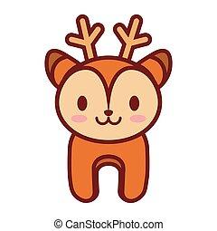 cartoon deer animal image