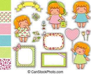 cartoon design elements