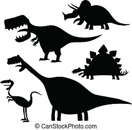 Cartoon Dinosaur Set