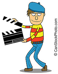 Cartoon Director, ready for action