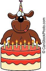 Cartoon Dog Birthday