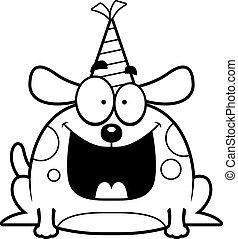 Cartoon Dog Birthday Party