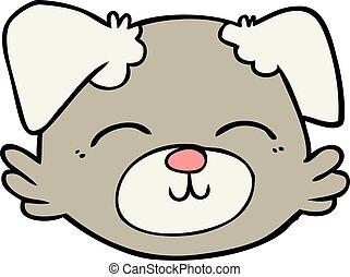 cartoon dog face