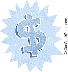 cartoon dollar symbol