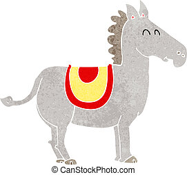 cartoon donkey