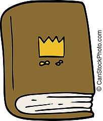 cartoon doodle journal book