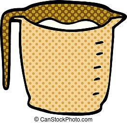 cartoon doodle jug