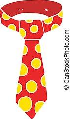 cartoon doodle loud tie