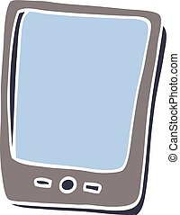 cartoon doodle modern mobile