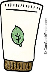 cartoon doodle skin lotion