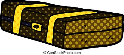 cartoon doodle suit case