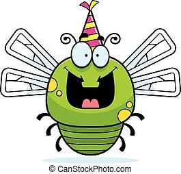 Cartoon Dragonfly Birthday Party