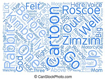 Cartoon Dreams text background word cloud concept