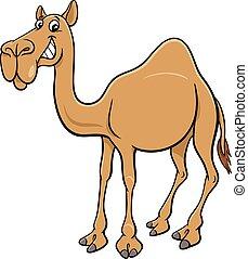 cartoon dromedary camel comic animal character
