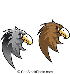 Cartoon eagle symbol