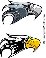 Cartoon eagle symbol