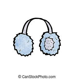 cartoon ear muffs
