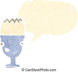 cartoon egg