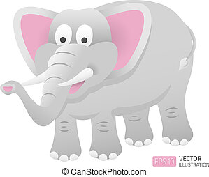 Cartoon elephant illustration