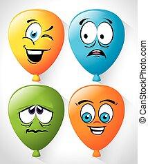 Cartoon emoticon graphic