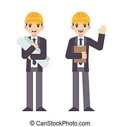 Cartoon engineer